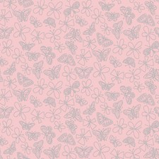 Light Pink Wall Decor Wallcovering by York