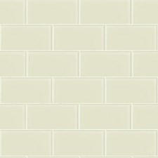 Pearl/White Tile Wallcovering by York