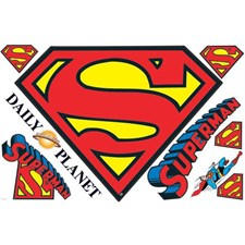 RMK2624SLM Superman Giant Logo Mega Pack by York