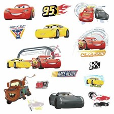 RMK3353SCS Disney Pixar Cars 3 Wall Decal by York