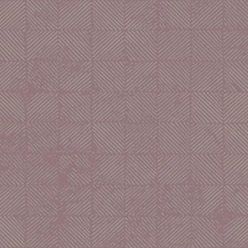 Lilac/Silver Geometrics Wallcovering by York