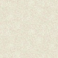 Beige/Pink/White Floral Wallcovering by York