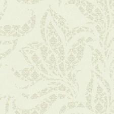 Beige/Soft Metallic Gold Botanical Wallcovering by York