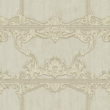 Metallic Silver/Soft Grey/Taupe Architectural Wallcovering by York
