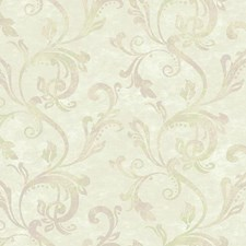Beige/Cream/Pale Lilac Traditional Wallcovering by York