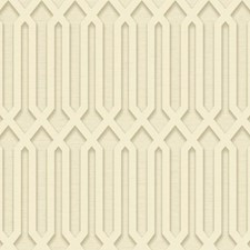 Gold/Cream/Grey Geometrics Wallcovering by York