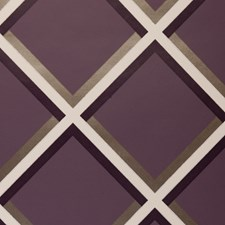 Grape Abstract Wallcovering by Clarke & Clarke