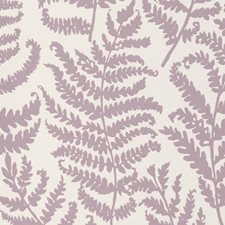Heather Wp Botanical Wallcovering by Clarke & Clarke