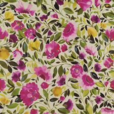Fuchsia Floral Large Wallcovering by Clarke & Clarke
