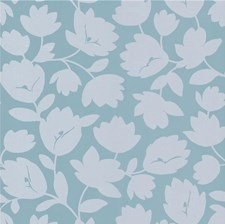 Beige/Light Blue/Grey Botanical Wallcovering by Kravet Wallpaper