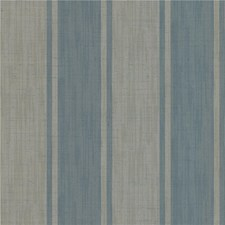 Blue/Beige Stripes Wallcovering by Kravet Wallpaper