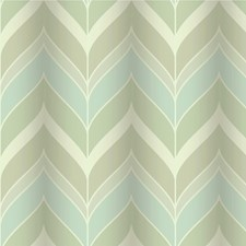 Silver/Sage Contemporary Wallcovering by Kravet Wallpaper