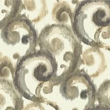 Gold/Grey/Black Modern Wallcovering by Kravet Wallpaper