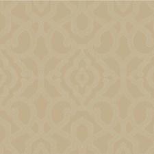 Taupe/Light Grey Lattice Wallcovering by Kravet Wallpaper