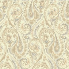 Taupe/Beige/Grey Modern Wallcovering by Kravet Wallpaper
