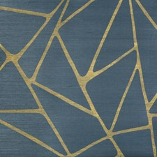 Teal Contemporary Wallcovering by Kravet Wallpaper