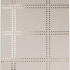 Light Grey/Gold/Metallic Dots Wallcovering by Kravet Wallpaper
