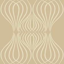 Light Green/Camel/Metallic Geometric Wallcovering by Kravet Wallpaper