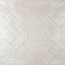 Metallic/Ivory Geometric Wallcovering by Kravet Wallpaper