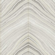 Beige/Grey/Charcoal Modern Wallcovering by Kravet Wallpaper