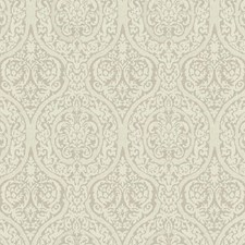 Graphite Gray/Dove Gray Damask Wallcovering by York
