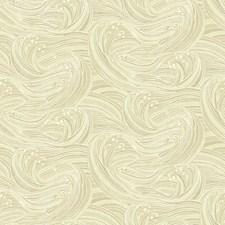 Beige/Cream/White Raised Prints Wallcovering by York