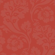 Red/Red/Orange Floral Wallcovering by York