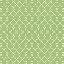 Bright Green/Cream Trellis Wallcovering by York