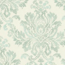 Turquoise Wallcovering by Scalamandre Wallpaper