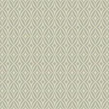 Grey/Cream/Pale Yellow Geometrics Wallcovering by York