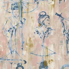 Indigo Wallcovering by Scalamandre Wallpaper