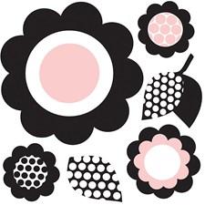 WPD99953 Gigi Floral Minipops Wall Art Kit by Brewster