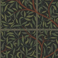 Black/Green/Brown Wallcovering by Scalamandre Wallpaper