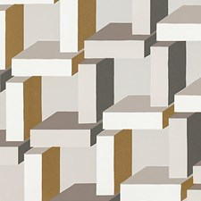 Grey/Bronze Wallcovering by Scalamandre Wallpaper