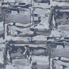 Blue Modern Wallcovering by Winfield Thybony
